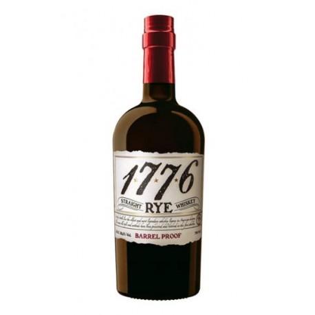 STRAIGHT 1776 RYE BARREL PROOF WHISKEY